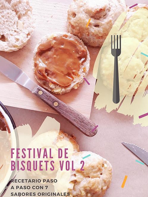 RECETARIO FESTIVAL DE BISQUETS vol 2