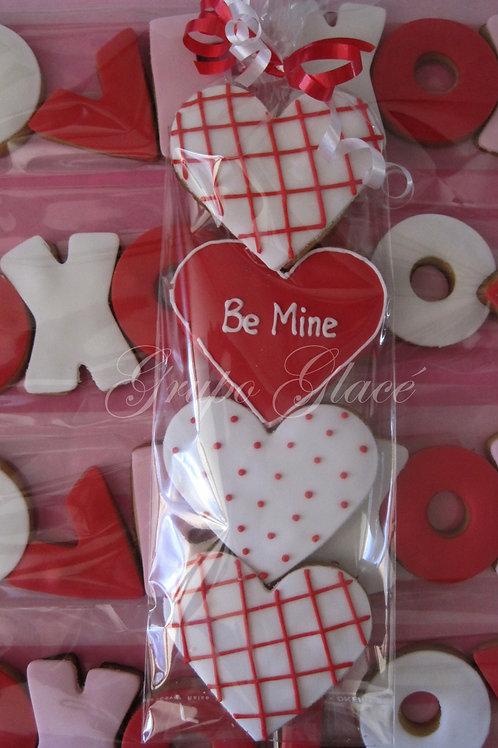 Mini love cookies