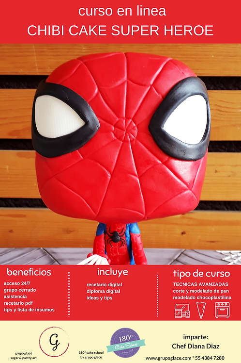 CHIBI CAKE SUPER HEROE