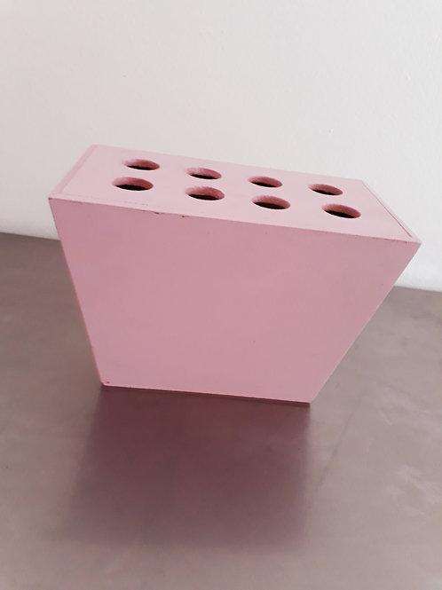 Base de madera para conos de dulces