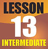 Button link to download lesson thirteen of Roy Vogt's teach me bass guitar