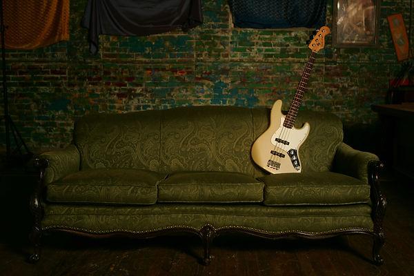Beauty shot of TMBG sofa