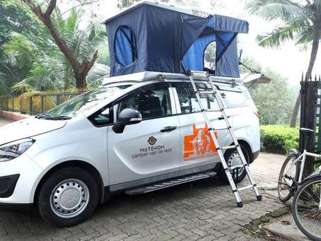 Rent a campervan to Explore the beauty of Maharashtra.