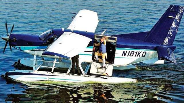 PM Narendra Modi Inaugurating Sea Plane