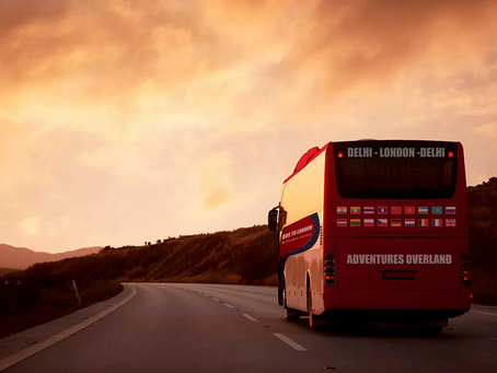 Delhi to London on a Bus?
