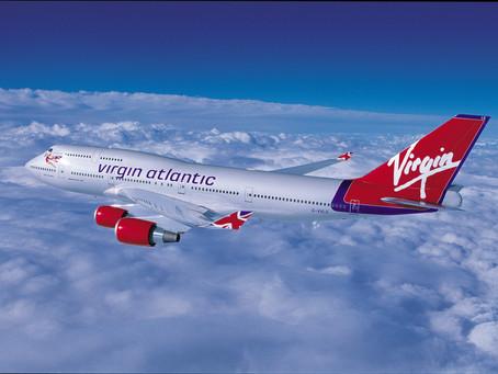 Virgin Atlantic resumes from 2nd September.