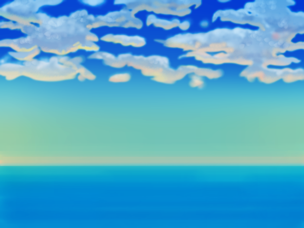 Sky 30minutes drawing