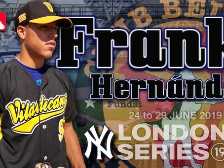 FRANK HERNÁNDEZ EN EL «MLB  LONDON SERIE 2019»