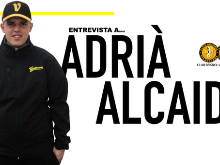 ENTREVISTA A ADRIÀ ALCAIDE TÉCNICO DEL SUB 14 DEL CLUB BEISBOL VILADECANS