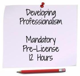 Developing Professionalism & Ethical Practices: Nov 17th 1-5PM & 18th 8-5PM