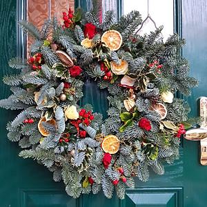 Christmas 2020 Door Wreaths