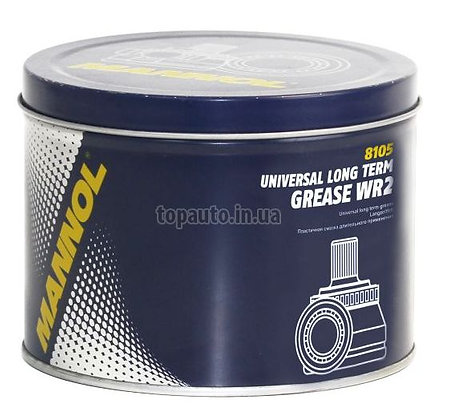 Mannol UNIVERSAL LONG TERM GREASE WR-2 (4,5 кг.)