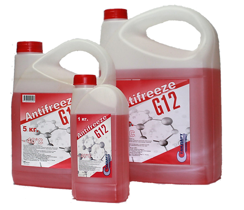 Антифриз красный G12 (10кг)
