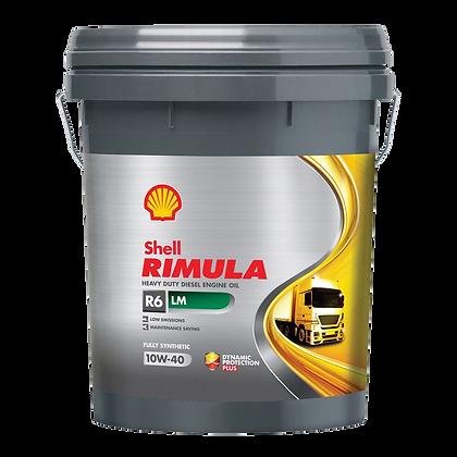 Shell Helix Rimula R6 LM 10W-40 (20л)