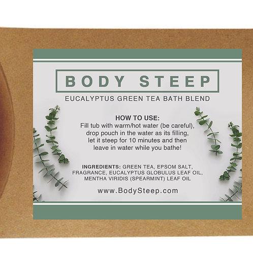 Eucalyptus Green Tea Bath Blend