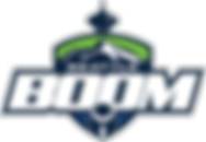 Seattle Boom Logo - Cascade Flag Football Association