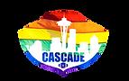 Cascade Flag Football Rainbow Logo