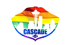 Cascade Flag Football Rainbow Logo