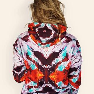 colourful-warrior-hoodie-beautiful-print