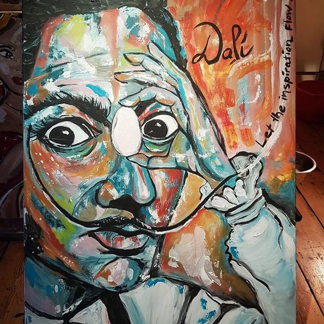 Let the inspiration flow! Dali 115 x 75