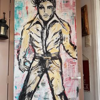 Elvis Presley painting