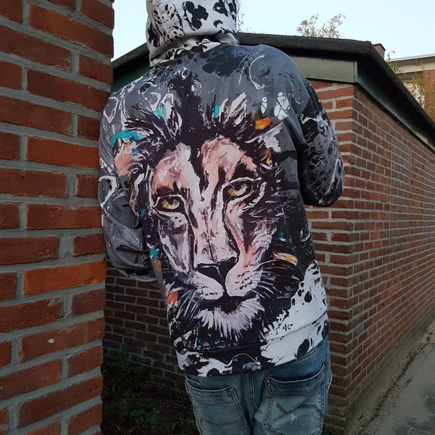 Leeuw Hoodie Capuchon