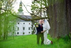 Svatba zámek Třešť