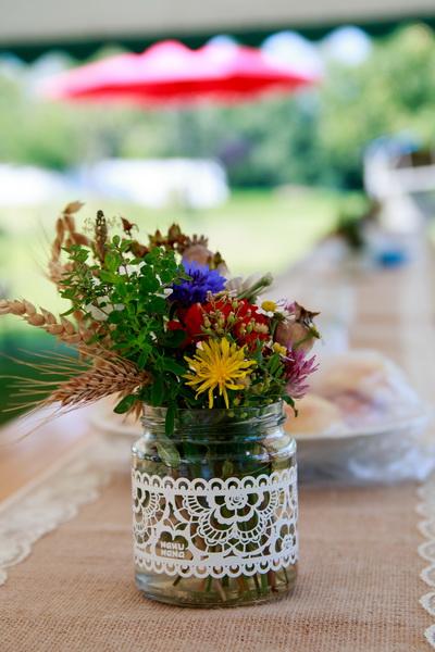 Svatba zahradní slavnost Modletín