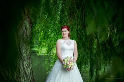 Svatební focení zámecký park Telč