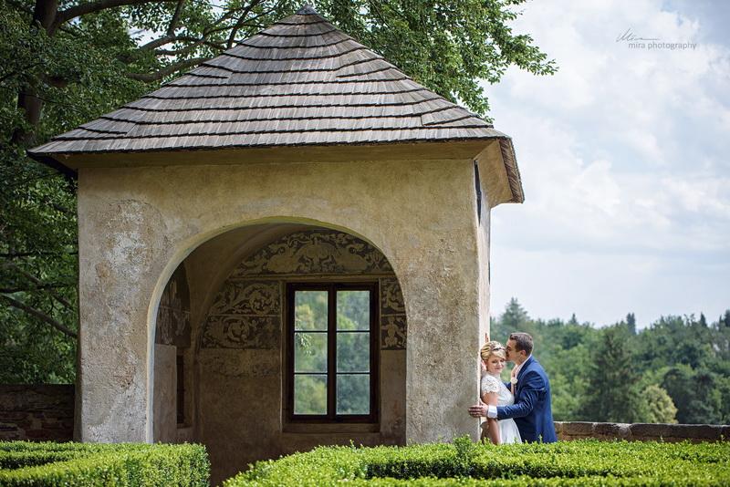 Svatba zámek Ledeč nad Sázavou