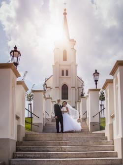Svatba kostel Sv. Kříže Pelhřimov