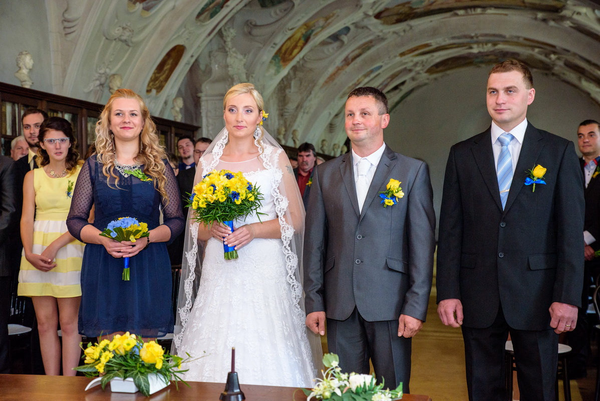 Svatba zámek Náměšť nad Oslavou