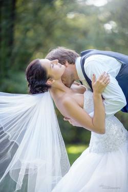 Svatba zámecký park Telč