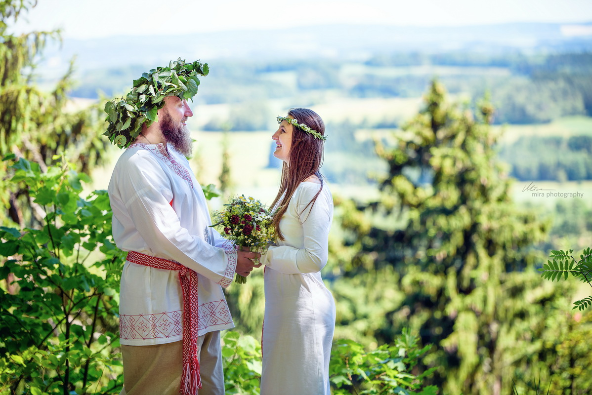 Svatba zřícenina hradu Štamberk