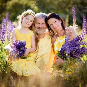 Příprava na focení: Rodinné fotografování exteriér