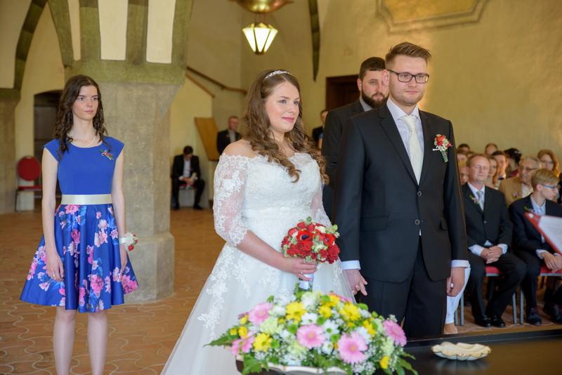 Svatba Velká gotická síň Jihlava