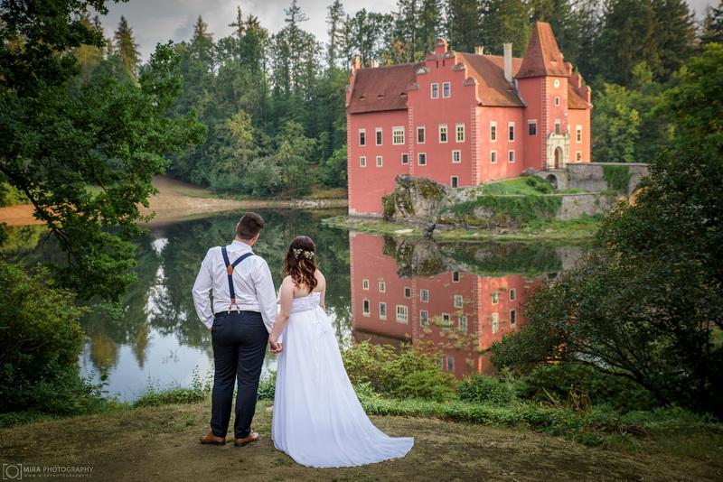 Svatba zámek Červená Lhota