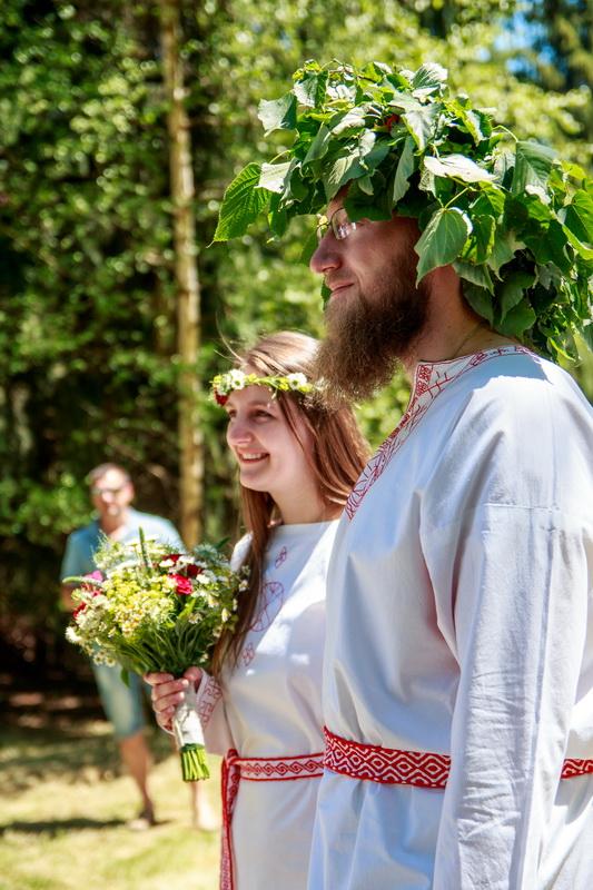 Staroslovanská svatba