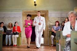Svatba zámek Polná