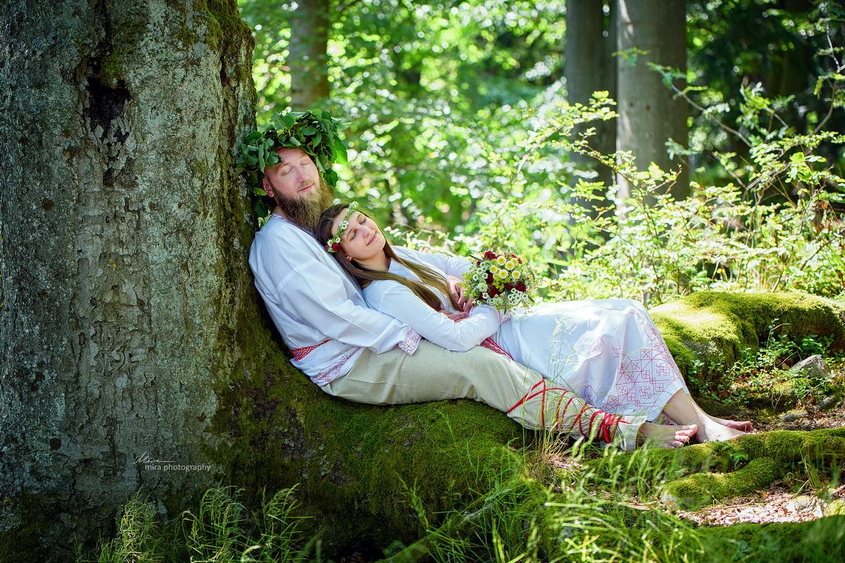 Svatba ve staroslovanském duchu