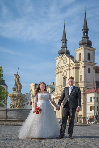 Svatba náměstí Jihlava