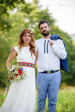 Svatba v moravském folklórním duchu