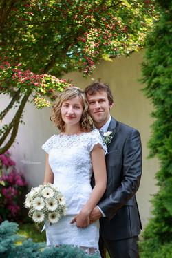 Svatba zahrada hotel Gustav Mahler