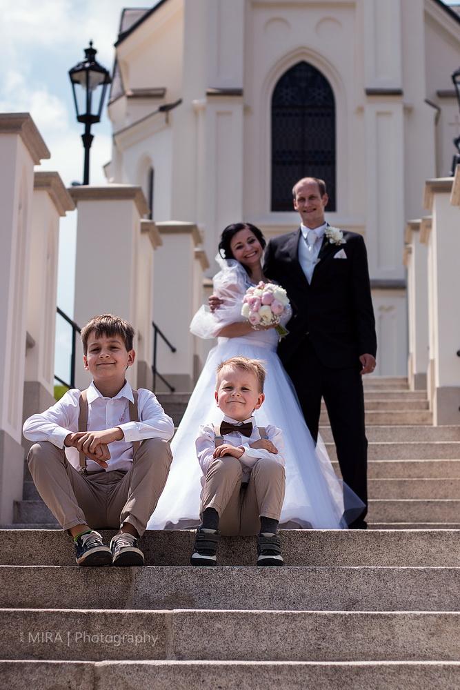 Svatba v kostele Sv. Kříže Pelhřimov