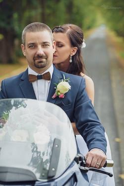 Motorkářská svatba