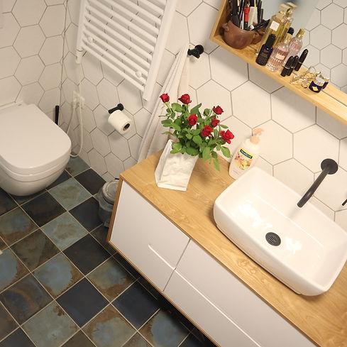 מעצבת פנים בירושלים, עיצוב חדרי אמבטיה, עיצוב דירת קבלן