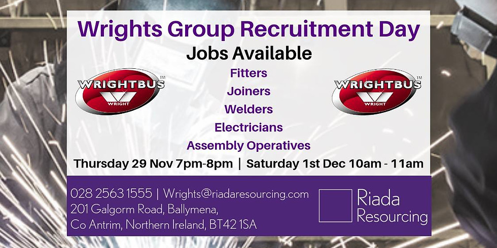Wrights Group Recruitment Open Evening