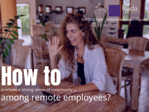 How to promote a strong sense of community among your remote employees?