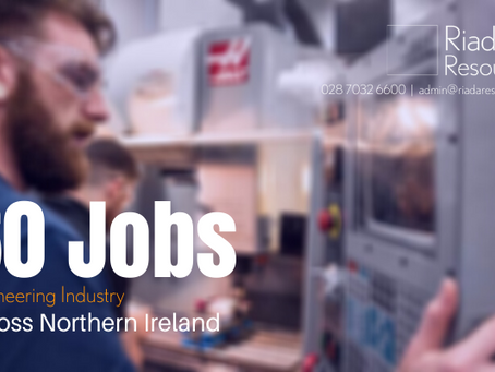 60 Engineering Jobs Available Across Northern Ireland
