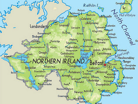Enjoy Northern Ireland, the craic's mighty!